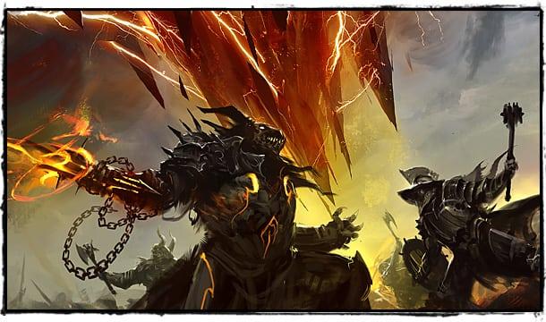 Guild Wars 2 Бой