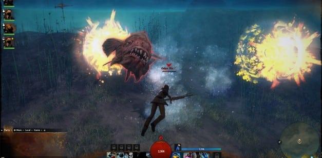 Обзор подводных сражений в Guild Wars 2 от PCgamer