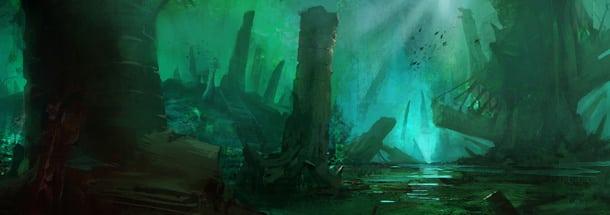 Подводные сражения Guild Wars 2