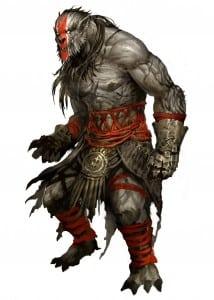 Steppe Grawl Fighter - Грол Воин