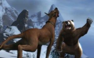 Медведь против питомца в Guild Wars 2