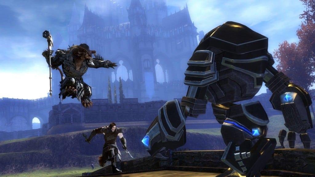 Осадный голем Guild Wars 2